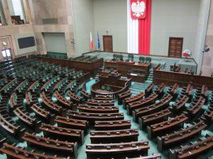 Plenarsaal des Sejm (Polnisches Parlament), Foto: Anna Flack
